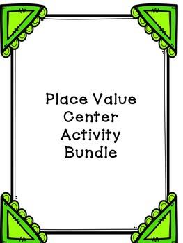 Place Value Center bundle