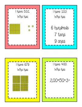 Place Value Centers