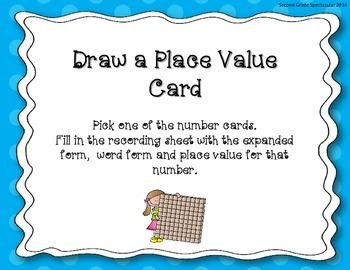 Place Value Centers
