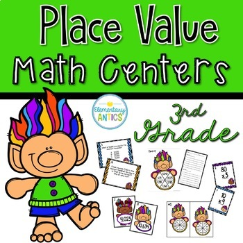 Place Value Centers {3rd Grade}