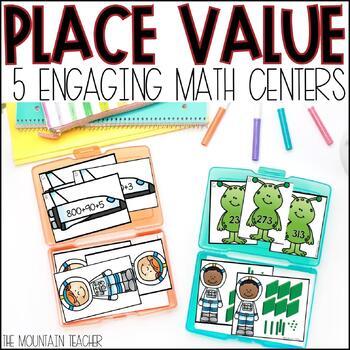 Place Value Centers - Space Theme