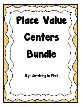 Place Value Centers - BUNDLE