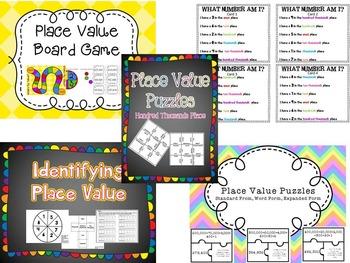 Place Value Centers Bundle - 6 Digit/ Hundred Thousands