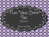 Place Value Centers (Complete Set)