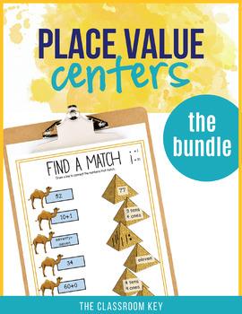 Place Value Centers Differentiated Bundle