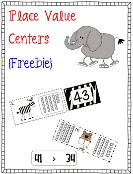Place Value Centers {Freebie}