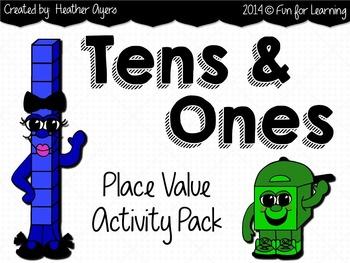 Place Value Centers {TENS & ONES}