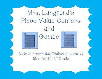 Place Value Centers for 1st-4th Grade!
