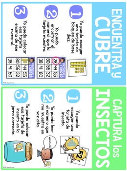 Place Value Centers in Spanish