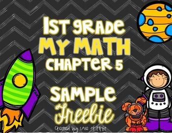 First Grade My Math Chapter 5 SAMPLE FREEBIE