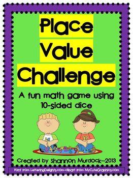 Place Value Challenge FREEBIE