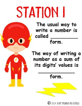 Place Value {Challenge} Stations