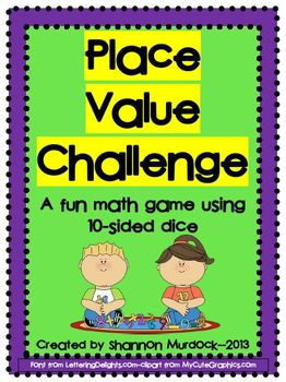 Place Value Challenge FULL VERSION