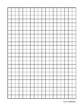 photograph relating to Printable Graph Paper 1cm called Graph Paper 1cm by means of 1cm through Math that Pupils Establish TpT