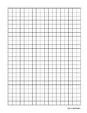 Graph Paper 1cm by 1cm