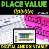Place Value Chart Activities {4th Grade}