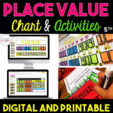 5th Grade Place Value Bundle {Digital and Printable} Dista