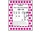 Place Value Chart Addition Strategy Anchor Chart