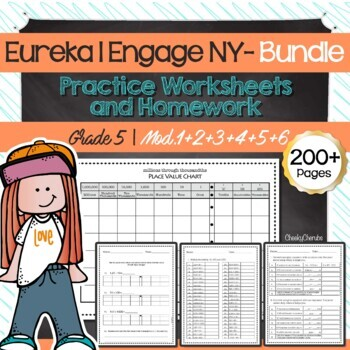 Eureka Math 5th Grade Worksheets Place Value Chart Freebie