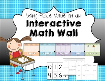 Place Value Chart- Number of the Day Math Warm-Up