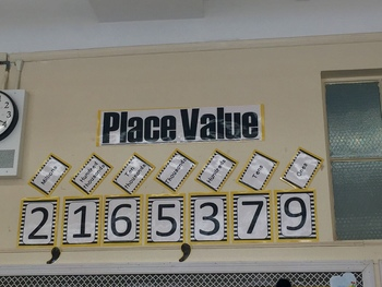 Place Value Chart / Poster / Classroom Decor / Math / Module 2  / Numbers