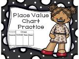 Place Value Chart Practice