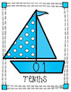 Place Value Chart: Sailboat Theme