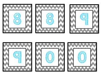 Place Value Chart Tags