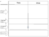 Place Value Chart- Tens & Ones