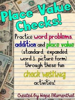Place Value Checks!
