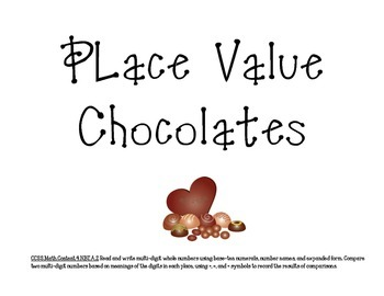 Place Value Chocolates