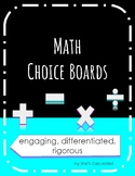 Place Value Choice Board