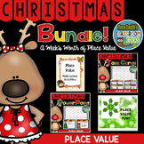 Christmas - A Weeks Worth of Place Value Activities