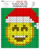 Place Value Christmas Emoji (Hundred Thousands OR Hundred Millions)
