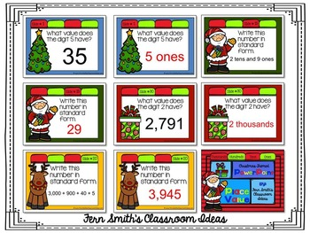 Christmas Place Value PowerPoint