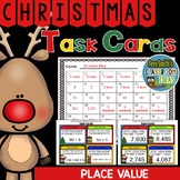 Christmas Place Value Task Cards