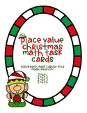 Place Value Christmas Task Cards