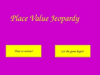 Place Value Class Review