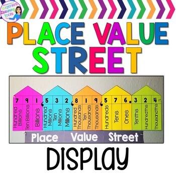 Place Value Classroom Display FREEBIE
