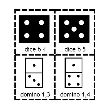 Place Value Clip Art - Base 10 Blocks, Number Lines, Dice, Dominoes & More