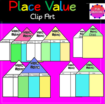 Place Value Clip Art for only $1.00