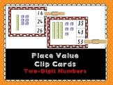 Place Value Clip Cards- 2 digit