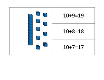 Place Value Clip Cards with Pictorial Model and Expanded Notation