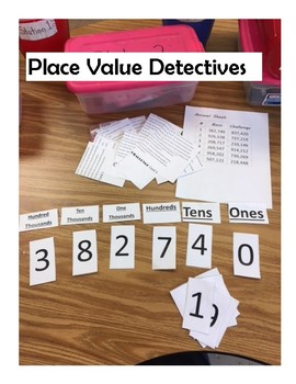 Place Value Clue Game