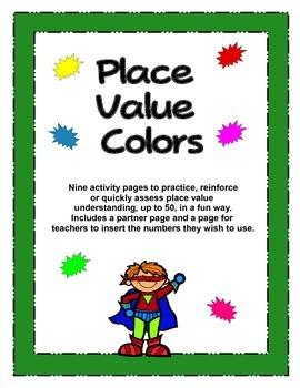 Place Value Color