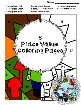 Color by Number: Place Value