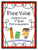 Place Value Common Core Math Assessments