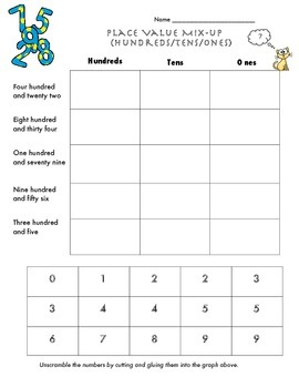 Place Value Free Activities