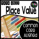 Place Value Unit - Distance Learning