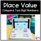 Place Value |  Compare Two-Digit Numbers | Editable Google Slides